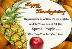 Happy Thanksgiving Quotes and Sayings