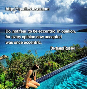 ... Philosophy #Confidence #Eccentricity #picturequotes #BertrandRussell