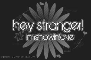 hey stranger Image