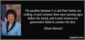 The parallels between 9/11 and Pearl Harbor are striking. In each ...