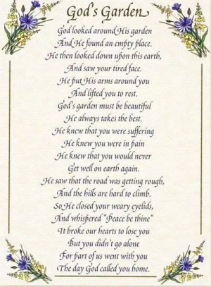 sorry for your loss poem. I think its for need glamorous flower gift ...