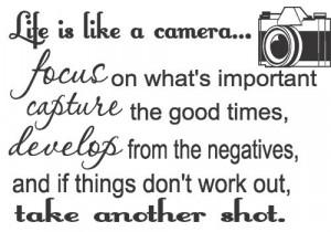 Camera Quotes