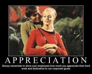 appreciation star trek motivational poster