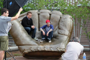 The Sandlot's Squintz and Ham at Target Field Golden Glove in ...
