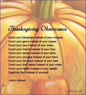 Thanksgiving poems 5