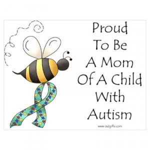 CafePress > Wall Art > Posters > Autism Mom Poster
