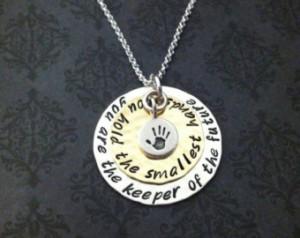 ... Necklace- Teacher necklace - Daycare Provider necklace - Nanny Gift