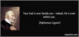 More Alphonsus Liguori Quotes