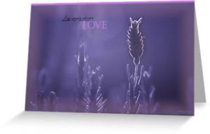 Lavender Love ©
