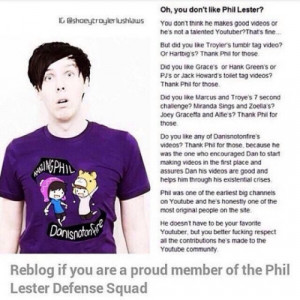 Phil Lester Defence Squad