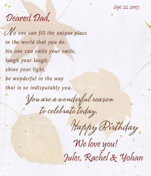Happy Birthday Dad In Heaven Quotes From Daughter Happy birthday dad!