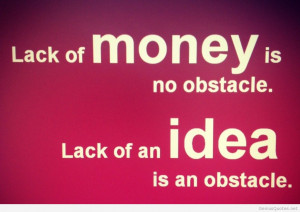 Inspirational hd money quote