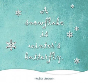 Christmas Snowflake Quotes Christmas snowflake quotes