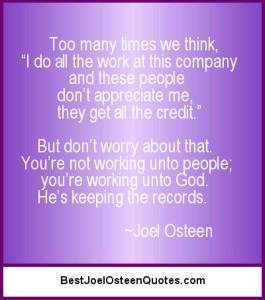 Working Unto God