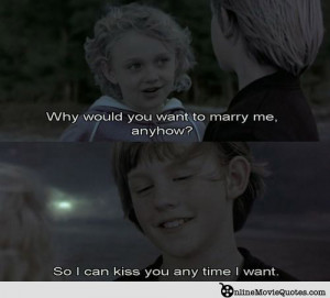 Sweetest Love Quotes From Movies: I've Been Very Lucky Enough To Do ...