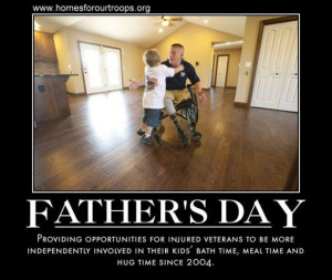 Father's Day, military service, veterans, homesforourtroops.org