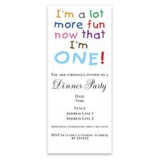 More Fun 1st Birthday First Invitations for