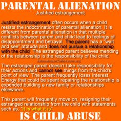 estranged from abusive parents relationship