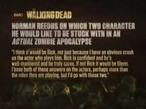The Walking Dead: Norman Reedus Quote About His Crush On Andrew ...