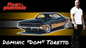 Dominic Toretto by skarrwar