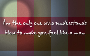 Only Girl (In The World) - Rihanna Song Lyric Quote in Text Image