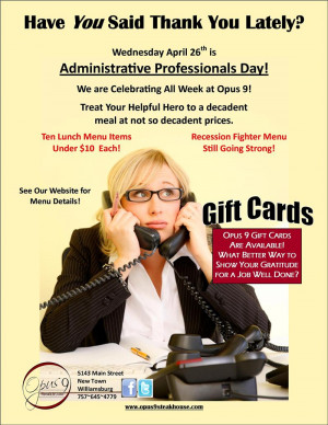 ... Pictures professional administrative assistants day greeting cards