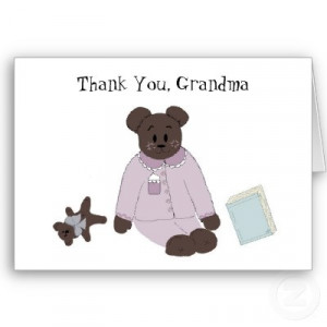 So cute for Grandma... thank you card $2.85 | Quotes and Sayings