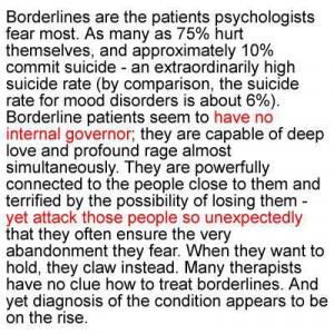 BPD fear of abandonment...