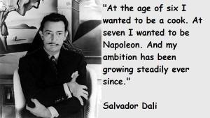 Salvador dali quotes 1
