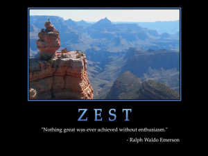 DAILY AFFIRMATIONS - ZEST