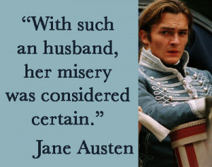 Referring of course to Lydia and Wickham, in Pride and Prejudice .