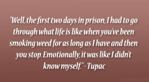 2pac Smoking Weed Quotes Tupac life quote.