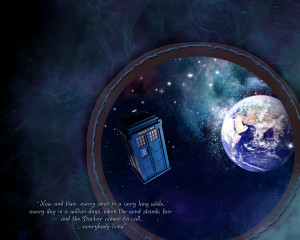 quotes tardis earth doctor who Knowledge Quotes HD Wallpaper