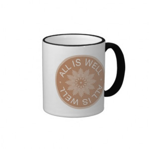 word_quotes_all_is_well_inspirational_mug ...