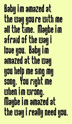 Paul McCartney - Maybe I'm Amazed - song lyrics, music lyrics, song ...