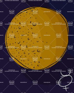 planet mercury clip art