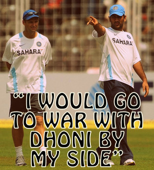 Captain, leader, destroyer - 10 best quotes on MS Dhoni