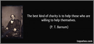 More P. T. Barnum Quotes