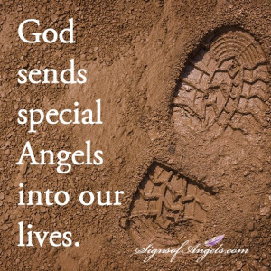 God sends special Angels into our lives.