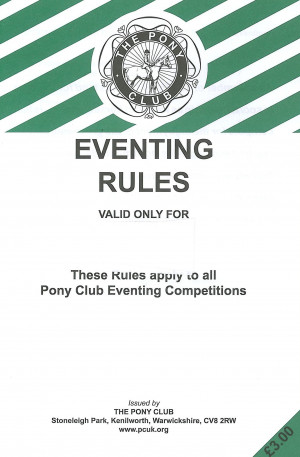 Eventing Quotes Eventing rule book 2014