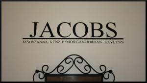 ... , rental houses, and temporary living spaces. Vinyl Wall Decal Quotes