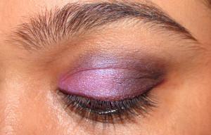 Purple Smokey Eye Eyeshadow