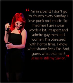 Quotes about music/fans/being a band