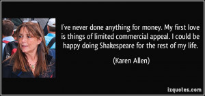click to close karen allen s quote 2