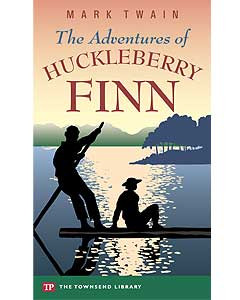 huckleberry finn a satirical work In the critical response to mark twain's huckleberry finn, edited by laurie  think is particularly satirical and summarize  scene in each work they find to.