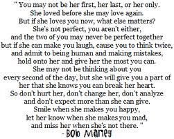 Quotes on Love by Bob Marley.