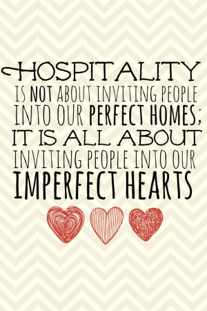 The Heart of Hospitality {Entertaining on a Budget}