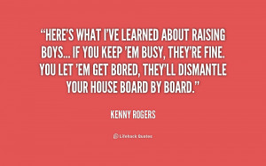 Quotes About Raising Teenage Boys