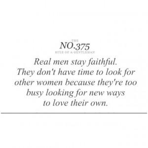 real men are rare!