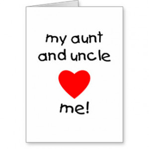 Aunt And Uncle Quotes